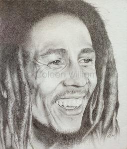 ColArt - Art by Coleen Williams - Bob Marley - portrait