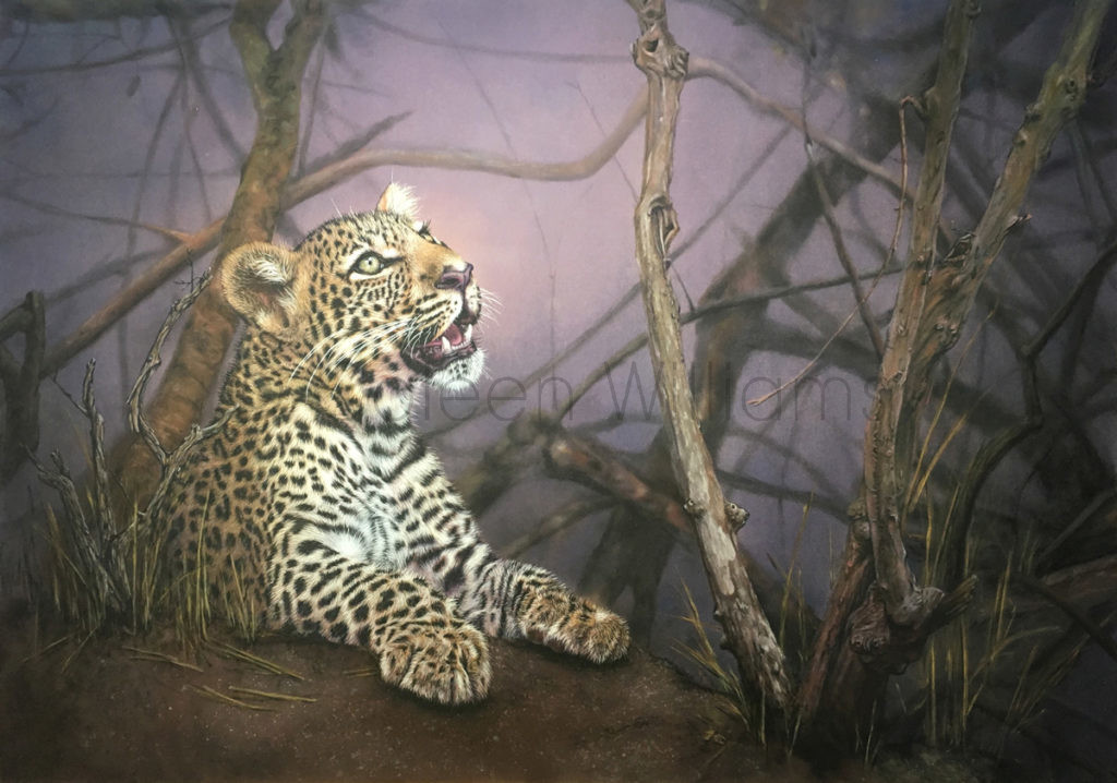 ColArt - Art by Coleen Williams - Prince Charming - Leopard