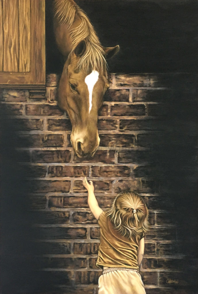 ColArt - Art by Coleen Williams - Monty - Horse