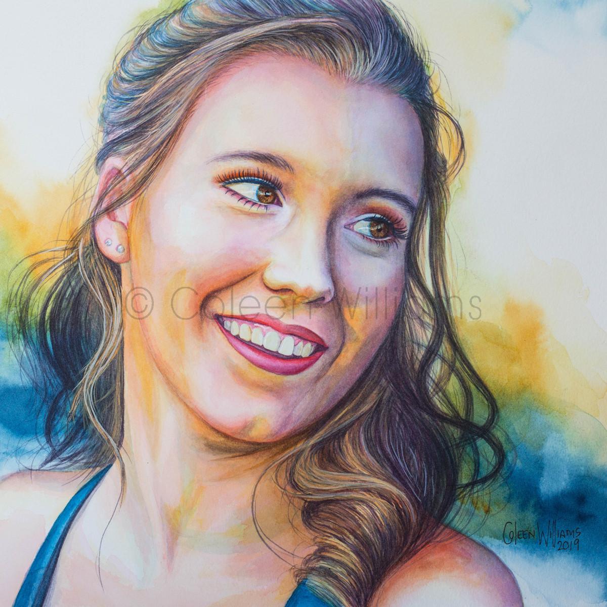 ColArt - Art by Coleen Williams - Tyler - Portrait