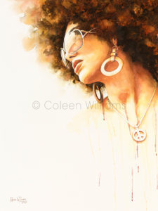 ColArt - Art by Coleen Williams - Peace - Portrait