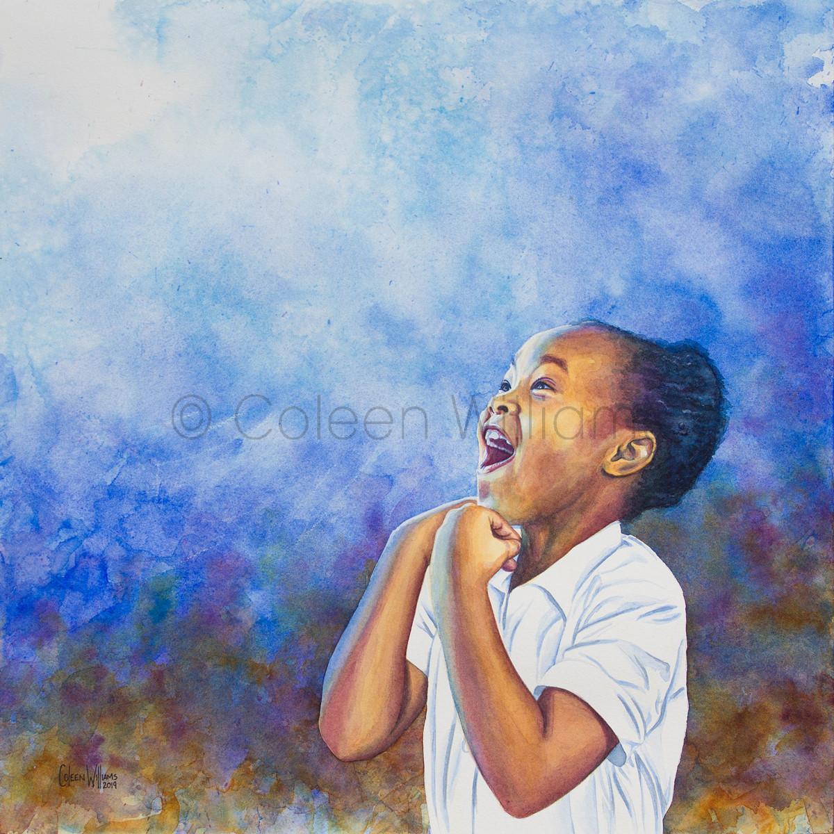 ColArt - Art by Coleen Williams - Wonder - Portrait